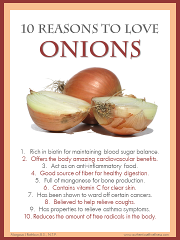 10 Reasons to Eat Onions